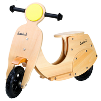 Childrens Wooden Vespa Scooter Balance Bike