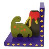 Childrens Wooden Dinosaur Bookends by Tinkie Toys
