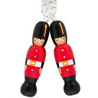 Fair Trade Wooden London Guard Skipping Rope