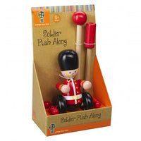 New Design Wooden Push-Along London Soldier Toy (Boxed)