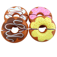 Wooden Play Food Doughnuts Donuts