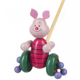 Wooden Push-Along Piglet from Winnie the Pooh 12 months +