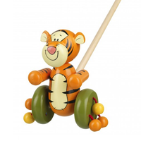 Wooden Push-Along Tigger from Winnie the Pooh 12 months +