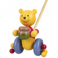 Wooden Push-Along Winnie the Pooh 12 months +