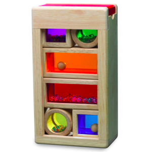 Eco Friendly Wooden Rainbow Sound Blocks by Wonderworld