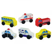 Set of 6 First City Vehicles by Viga