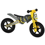 Childrens Wooden Motocross Balance Bike