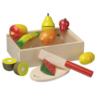 Set of Wooden Cutting Fruit by Vuga