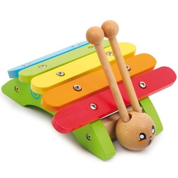 Wooden Colourful Snail Musical Xylophone