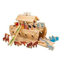 Fair Trade Large Deluxe Noah's Ark with Animals