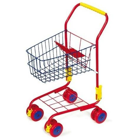 Colourful Kids Toy Shopping Trolley