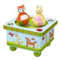 Woodland Animals Music Box by Orange Tree Toys