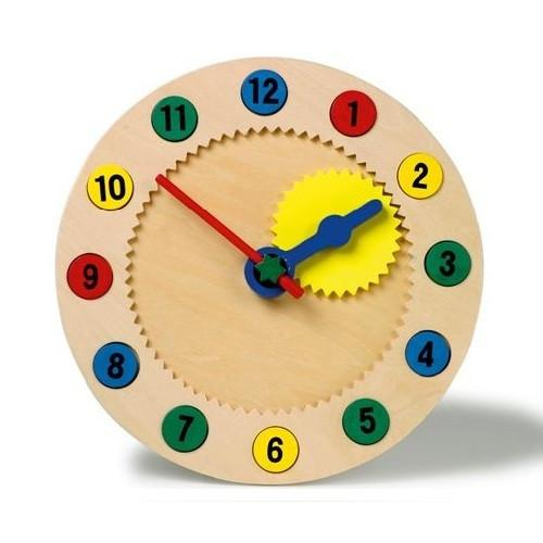 Educational Clock Jigsaw with Magnetic Number Pieces