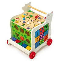 Wooden Bear Activity Baby Walker