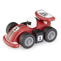 Eco Friendly Wooden Mini Red Racing Car by Wonderworld