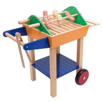 Childrens Play Wooden Barbeque Toy