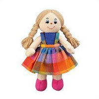 Fair Trade Soft Girl Rag Doll Plush by Lanka Kade