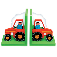 Fair Trade Tractor Bookends by Lanka Kade
