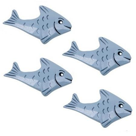 Wooden Play Food - 4 Fish