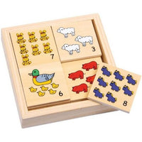 20 Piece Farm Animals Memory Make a Pair Set