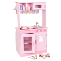 Childrens Pink Wooden 'Janina' Kitchen