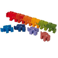 1-10 Counting Caravan of Elephants Number Jigsaw Puzzle