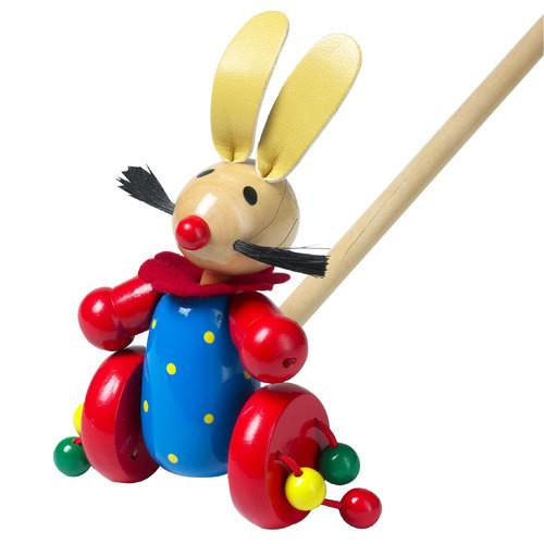 Push-Along Rabbit by Orange Tree Toys