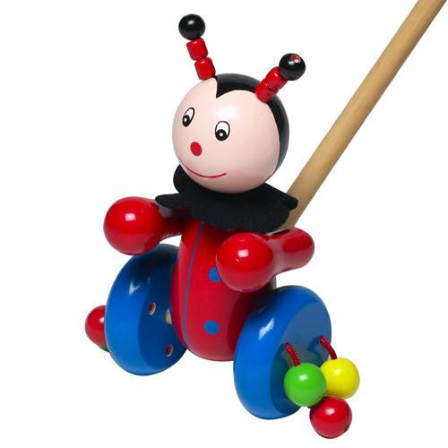 Push-Along Ladybird by Orange Tree Toys