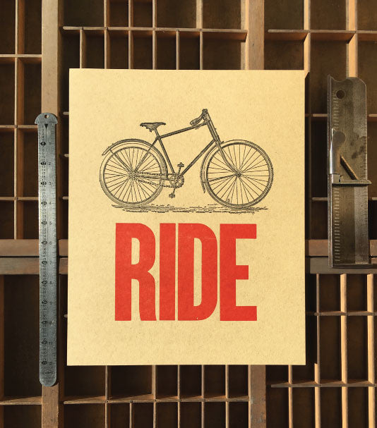 ride-bicycle-letterpress-broadside