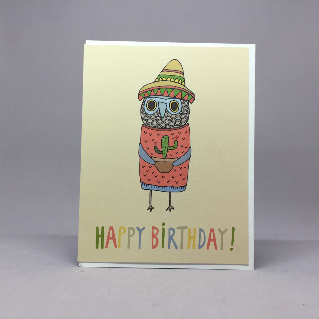 B-Day Owl Digital