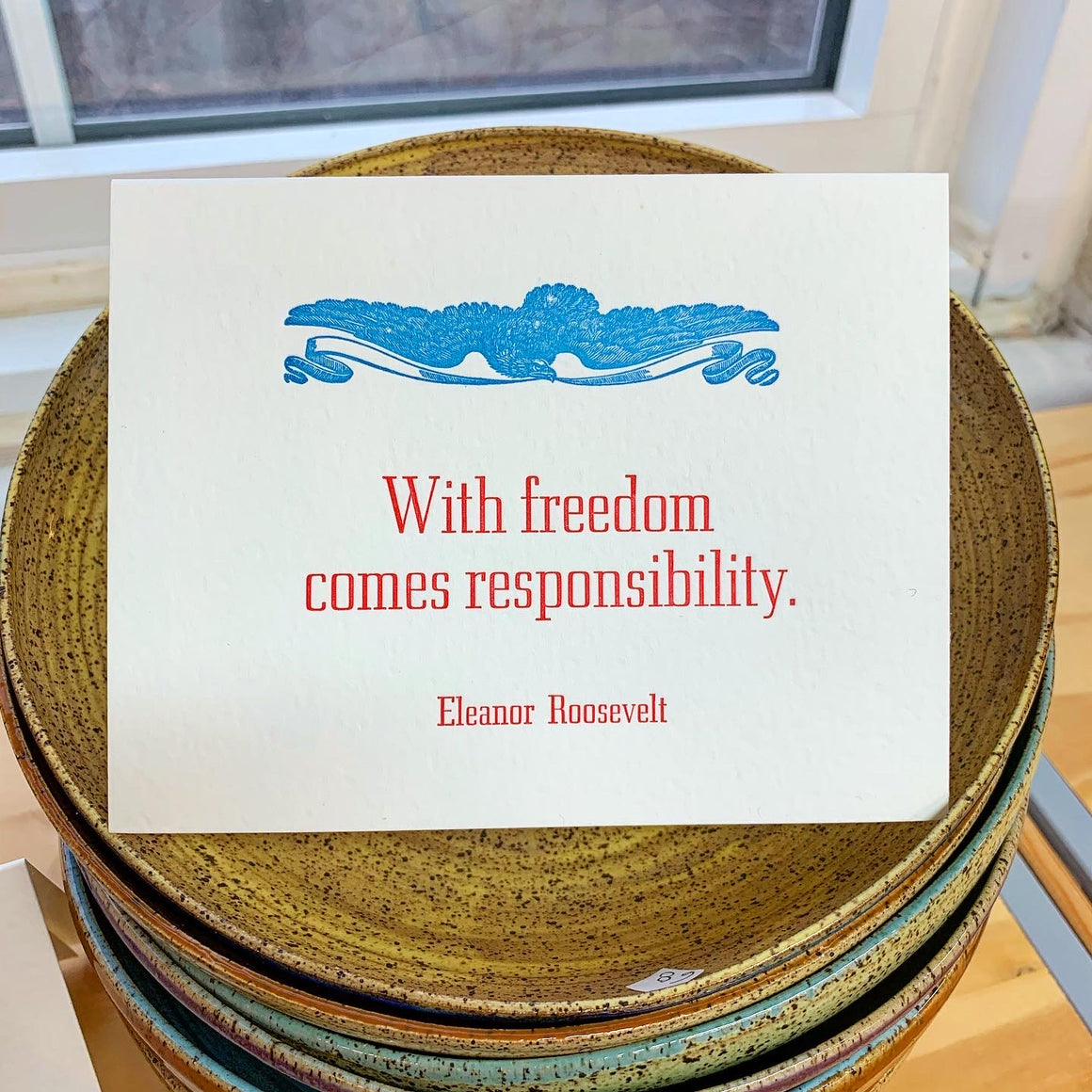 Eleanor Roosevelt America Quote