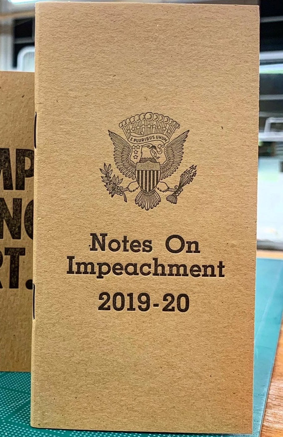 Notes on Impeachment--Notebook