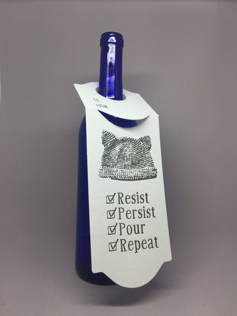 Resist, Persist, Pour, Repeat