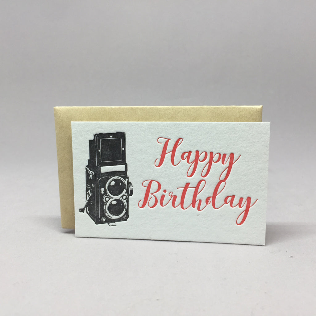 Vintage Birthday Camera Mini