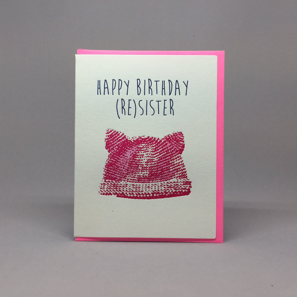 Happy Birthday Resister