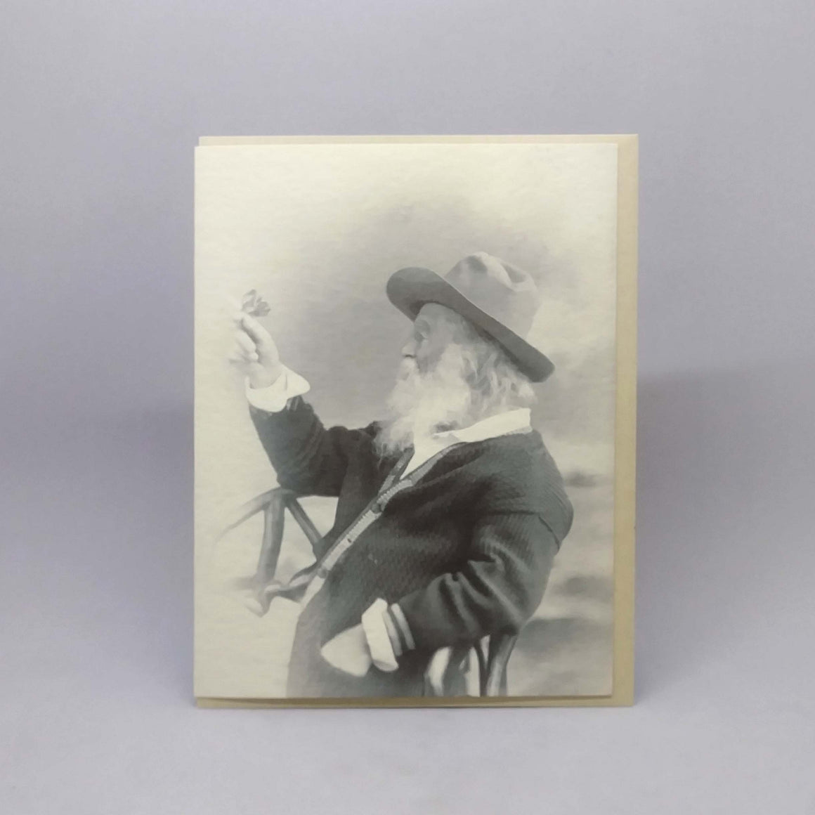 Walt Whitman--Joy (blank notecard)