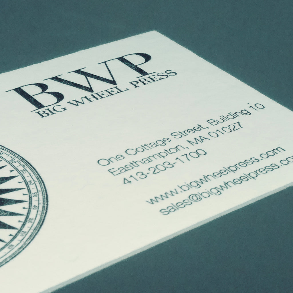 Custom Business Cards - Single Color