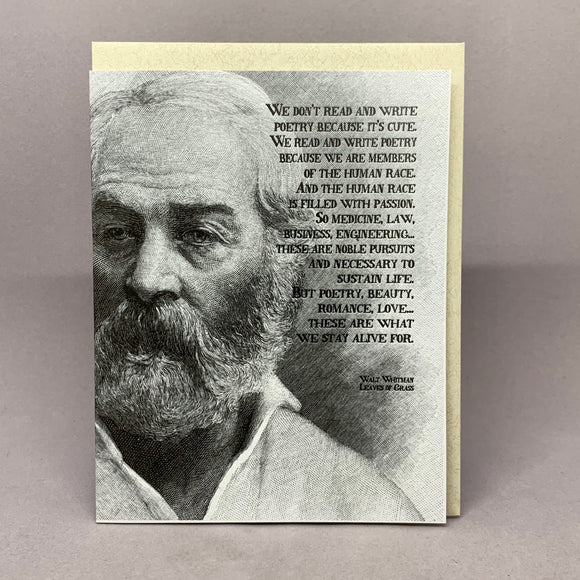 Leave of Grass - Walt Whitman