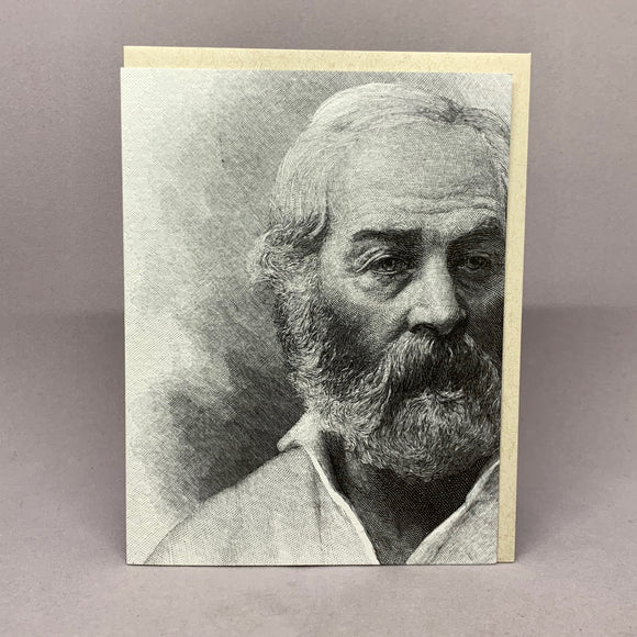 Walt Whitman--Blank Pocket notebook