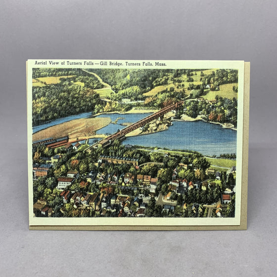 Vintage View of Turners Fall Massachusetts
