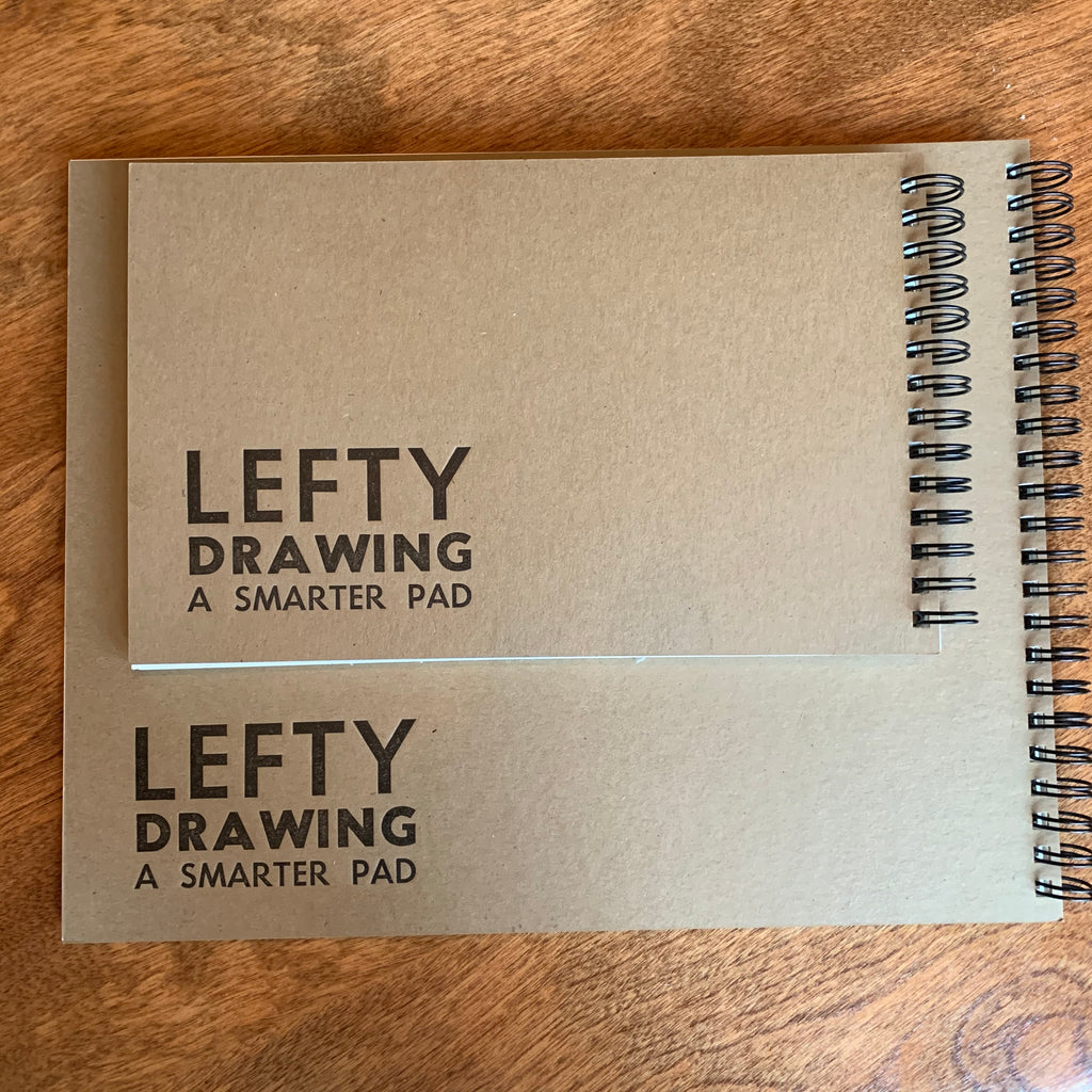 Lefty Left Handed Drawing Pad