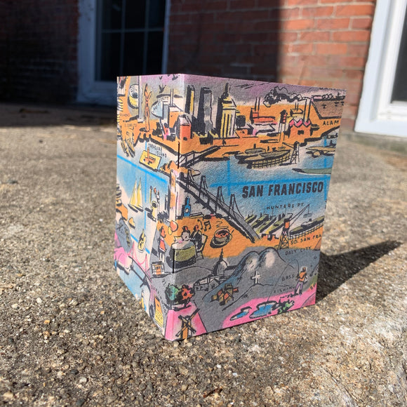 San Francisco Bay - Vintage Pocket Notebook