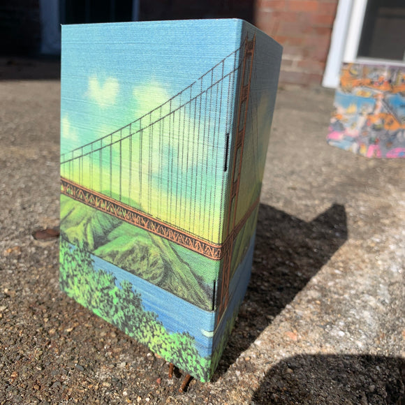 Golden Gate - Vintage Pocket Notebook