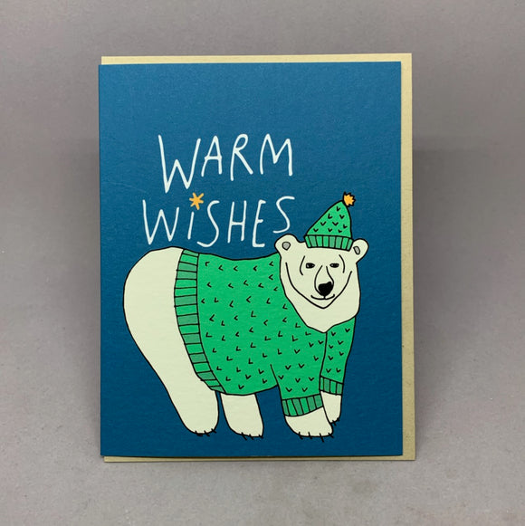 Warm Wishes Polar Bear