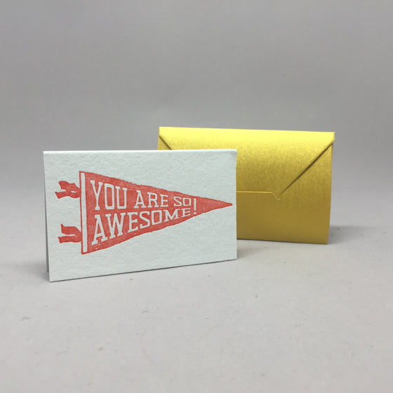 You are so awesome! Mini Pennant
