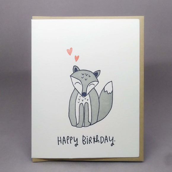 Fox Birthday