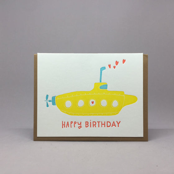 Birthday Submarine