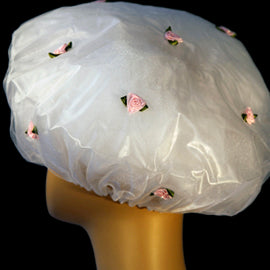 Flower Girl Shower Cap