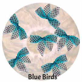 Blue Birds Shower Cap