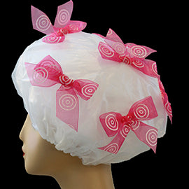 Cherry Daiqiuri Shower Cap